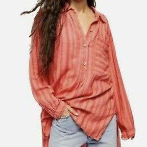 We The Free People Summer Breeze Stripe Pullover